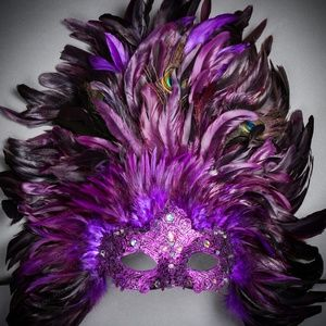 Luxury Traditional Venice Carnival Masquerade Mask